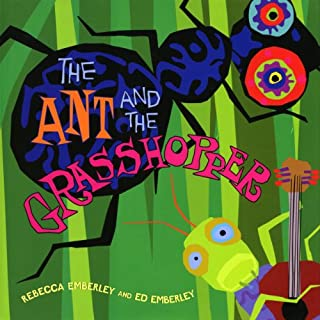Ant and the Grasshopper audiobook cover art