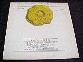Certified Gold 2 LP Set (24 Super Star Hits Stamped in Gold) by Air Supply, Pat Benatar, Fino Vannelli, Kenny Loggins, Pretenders, Stephanie Mills, The Police, The Alan Parsons Project Record Vinyl Album