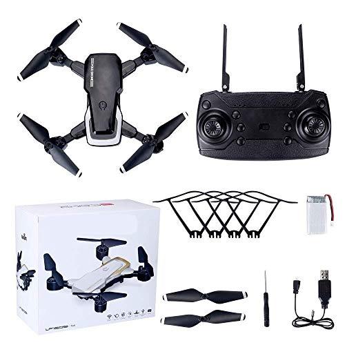 ADLIN Juguetes educativos al aire libre, conexión Wi-Fi Cámara Drone FPV HD 720p, Mejor aviones no tripulados for principiantes con el mantenimiento de altitud, control de voz, gestos Fotografía recon
