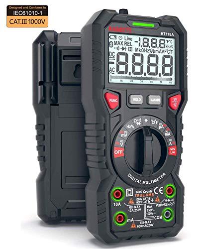 KAIWEETS Digital Multimeter, TRMS 6000 Counts Volt Meter Auto Ranging, Measures...