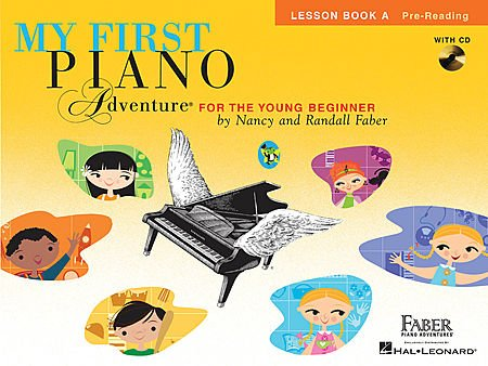 My First Piano Adventures - Lesson Book Set (3 Books including 2 CDs set, Lesson Book A with CD, Lesson Book B with CD, Lesson Book C)