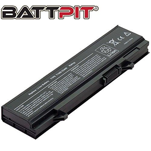 Battpit Laptop Akku für Dell T749D PP32LA PP32LB KM742 Latitude E5400 E5400N E5410 E5500 E5510 - [6 Zellen/4400mAh/49Wh]