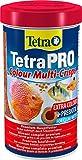 Tetra Pro Colour Premiumfutter (Flockenfutter für alle tropischen Zierfische, Fischfutter mit Farbkonzentrat für...