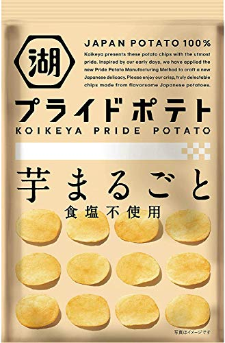 湖池屋 プライドポテト 芋まるごと 食塩不使用 6袋