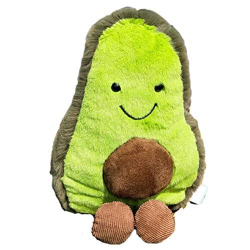 Heylas Avocado Puppe Pilz Erdbeer Plüschtier, Weiches Plüsch-Spielzeug, Kissen für Mädchen Jungen Geburtstag Party