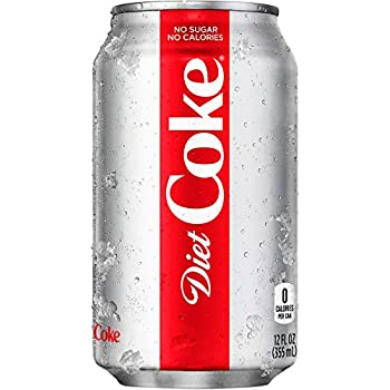 Coke Cola Diet 12 Fl Oz 12 Cans - 2 packs by Diet Coke
