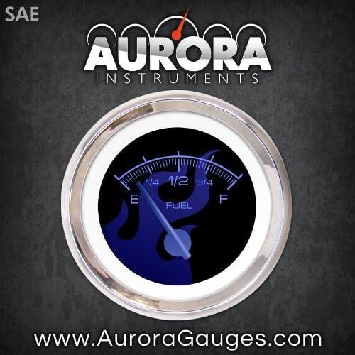 Aurora Instruments Limited price sale GAR183ZEXKABCF Ghost Flame Cheap sale Black Fuel Blue