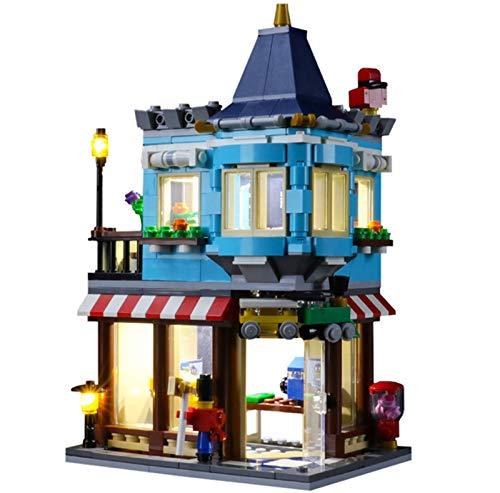 QZPM Conjunto De Luces (Creator Tienda De Juguetes) Modelo De Construcción De Bloques Kit De Luz LED Compatible con Lego 31105, No Incluye Modelo Lego