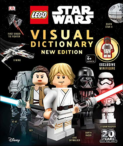 Lego Star Wars Visual Dictionary New Edition: With Exclusive Finn Minifigure [With Toy]