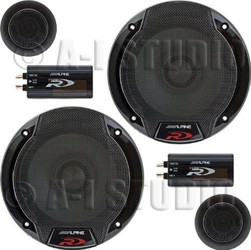 Alpine SPR-60C 6.5' Car Audio Component System (Pair)