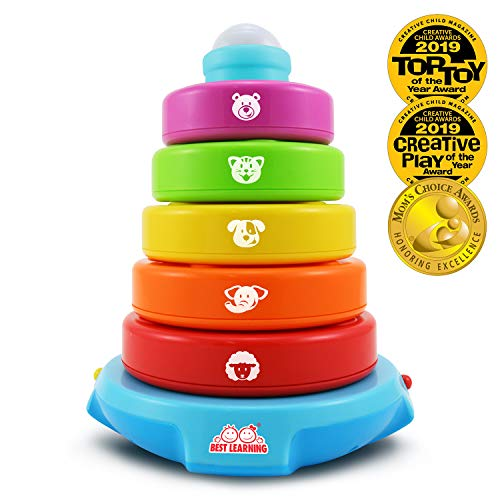 BEST LEARNING Stack & Learn - Educational Activity Toy for Infants Babies Toddlers for 6 Month and...