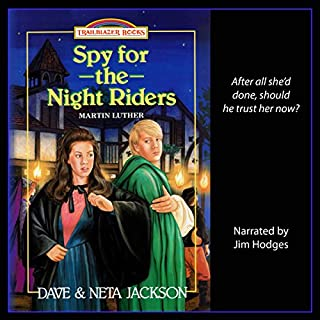 Spy for the Night Riders: Introducing Martin Luther audiobook cover art
