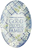 Stephanie Imports Decorative Surround Yourself with Good People Wall Art Sign Plaque
