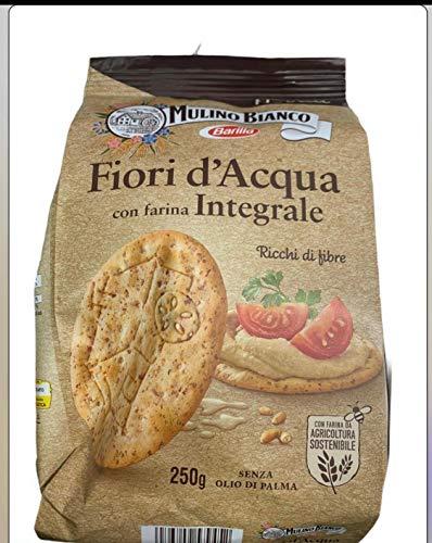 Mulino Bianco Cracker Fiori d'Acqua integrale 250 GR