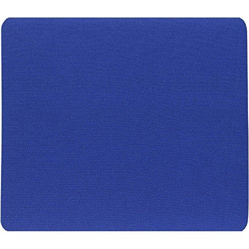 InLine® 23397 Tappetino per Mouse Ottici, Superfice in Tessuto, 250 x 220 x 6 mm, Blu