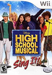 High School Musical Sing It Game Only - Nintendo Wii