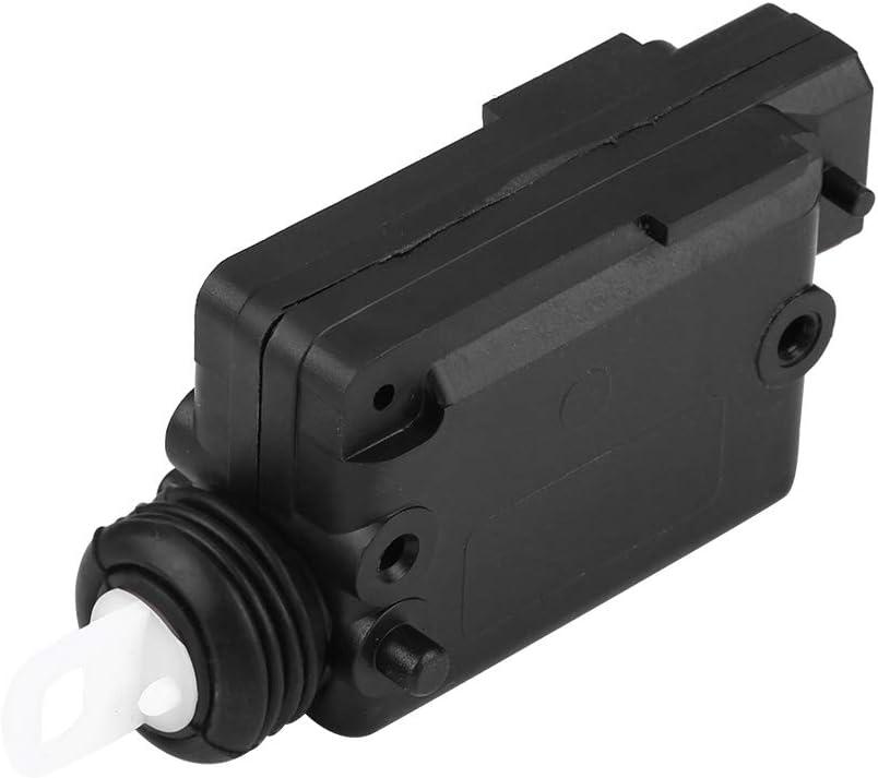 DEALPEAK 2 Pin Car Central Locking Motor Door Lock Actuator Repl