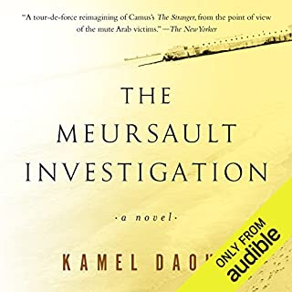 The Meursault Investigation                   By:                                                                                                                                 Kamel Daoud,                                                                                        John Cullen - translator                               Narrated by:                                                                                                                                 Fajer Al-Kaisi                      Length: 4 hrs and 7 mins     3 ratings     Overall 3.3