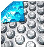 MidWest Canvas Space Age 16-Foot Round Solar Cover   12 Mil   Heating Blanket for Above-Ground Swimming Pools