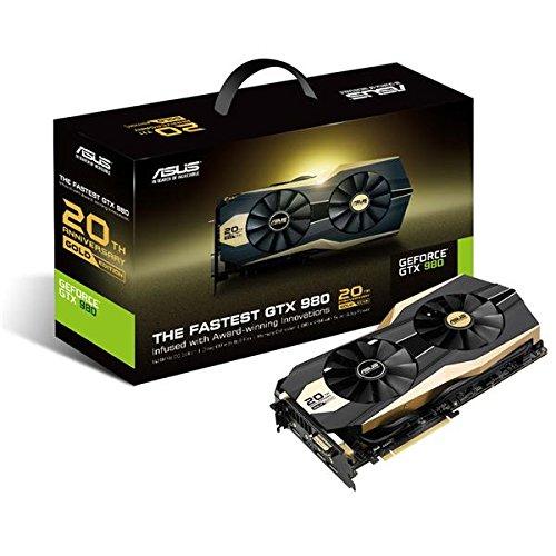 Asus POSEIDON-GTX980-4GD5 Nvidia GeForce Gaming Grafikkarte (PCIe 3.0 x16, 4GB DDR5 Speicher, HDMI, DVI, 3x DisplayPort)