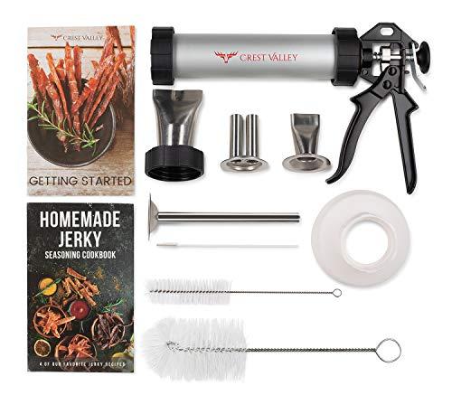 Crest Valley Premium Jerky Gun - Complete Jerky Making Kit -...