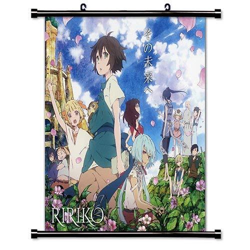 Daaint baby Children of The Whales (Kujira no Kora WA Sajou ni Utau) Anime Fabric Wall Scroll Poster (16x16) Inches