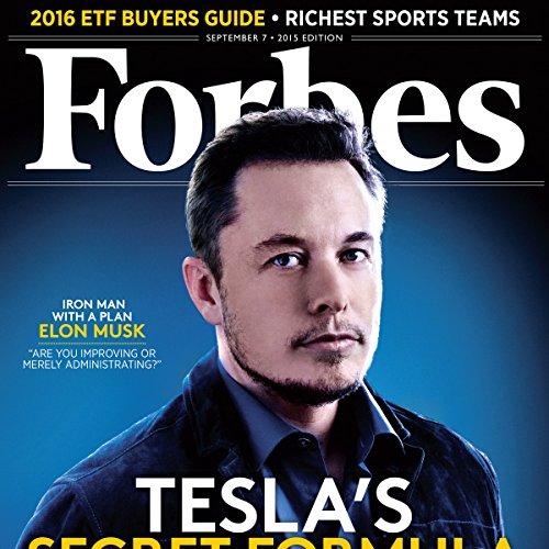 Forbes, September 07, 2015 cover art