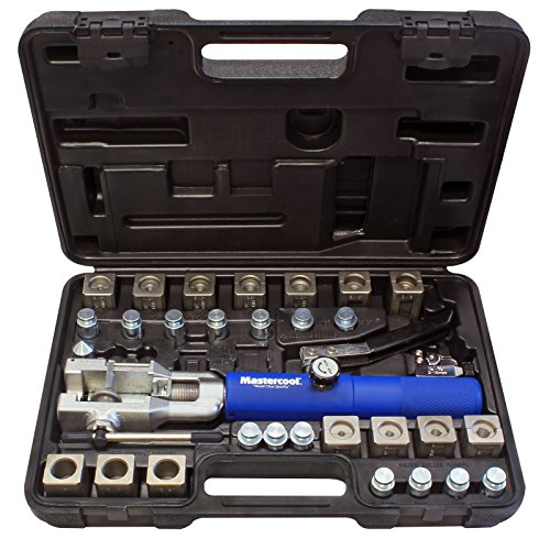 MASTERCOOL 72475-PRC Universal Hydraulic Flaring Tool Set with Tube Cutter