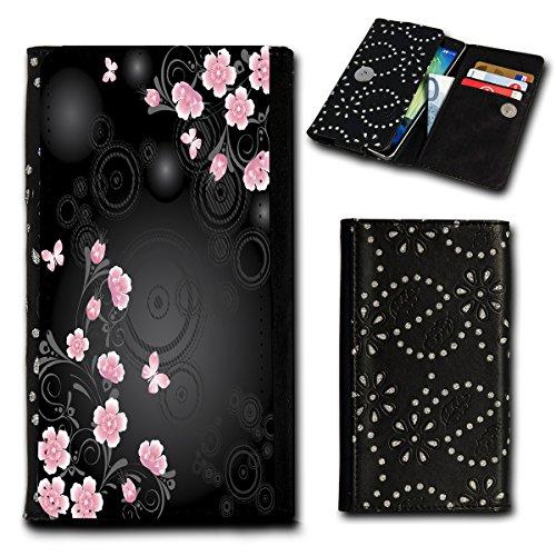 Book Style Flip Handy Tasche Case Schutz Hülle Foto Schale Motiv Etui für ZTE Blade A452 - Flip SU2 Design1