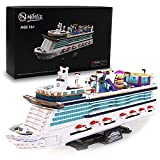 Nifeliz flybird Cruise Liner Model Building Blocks Kits - Construction Set to Build, Model Set and Assembly Toy for Teens and Adult,New 2021 (2446Pcs)