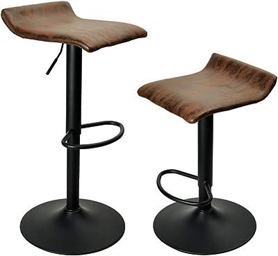 Brilliant Amazon Com Kobalt Adjustable Hydraulic Stool Kitchen Dining Machost Co Dining Chair Design Ideas Machostcouk