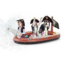 Jasonwell Inflatable Kiddie Pool Sprinkler  Splash Pad