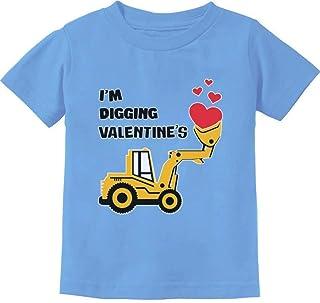 Camiseta infantil I'm Digging Valentine's Gift for Tractor Loving Boys