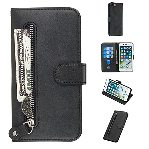 Coperchio della scatola flip del telefono Cassa a fogli mobili for iPhone 7 Plus /8 Plus Portafoglio,Premium PU.Custodia protettiva for la chiusura magnetica della chiusura magnetica della chiusura ma