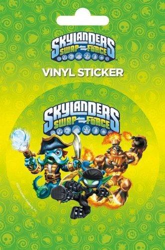 Skylanders Swap Force Logo Vinyl Sticker, 11x16 cm