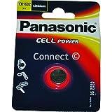 Panasonic CR1632 Knopfzelle (Panasonic Batterien, Verbrauchsartikel) DL1632 BR1632 KL1632 L1632 ECR1632 KCR1632 E-CR1632 KECR1632.