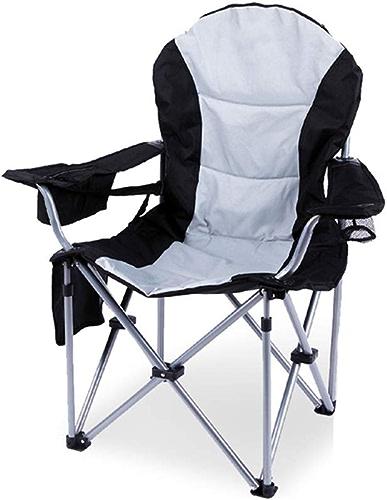 Yarmy Chaise de Camping Lourde et portative Se Pliante légère de pêche de Tabouret de siège de pêche