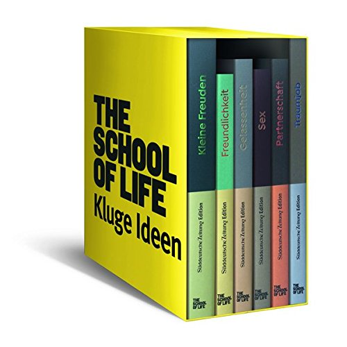 Kluge Ideen: 6 Bücher The School of Life im Schuber