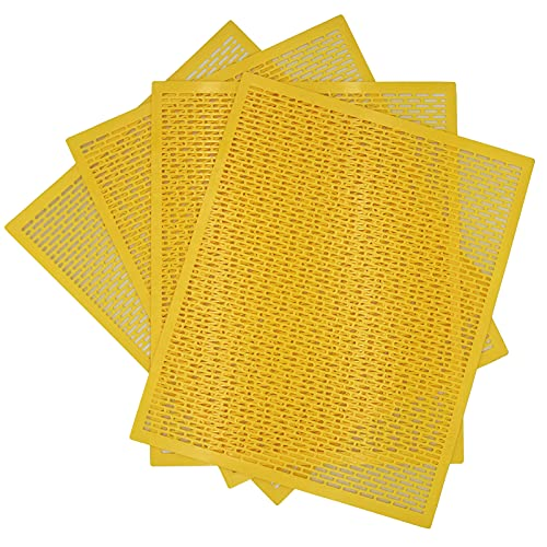 4 Pack, 10 Frame Plastic Queen Excluder