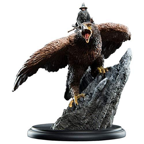 MMZ El Señor de los Anillos Estatua: Gandalf en Gwaihir coleccionables Figurita de la Serie de películas