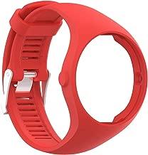 Polifly Digital Solid Color Soft Silicone Smart Bracelet Watch Strap Wrist Band for Polar M200