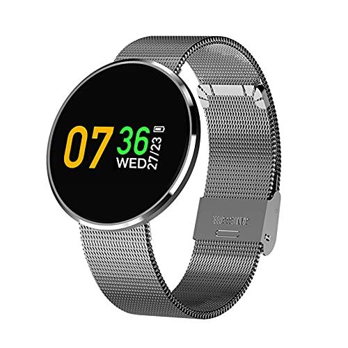 Smartwatch, Reloj Deportivo CF006H, Reloj Deportivo Al Aire Libre Digital para Hombres, Reloj Mujer Smart Watch Ladies Fitness Smart Strap,A