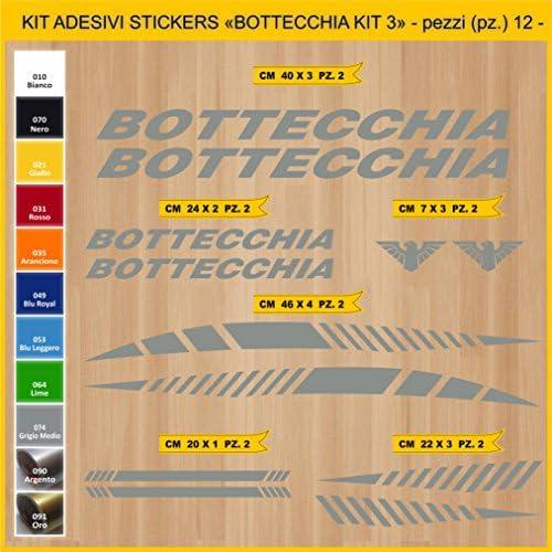 Pima Bicycle Sticker Lab Botte Cchia Kit 3 Kit Stickers 12 Stickers Bici Bike Cycle Option Cod 0848 Sport Freizeit