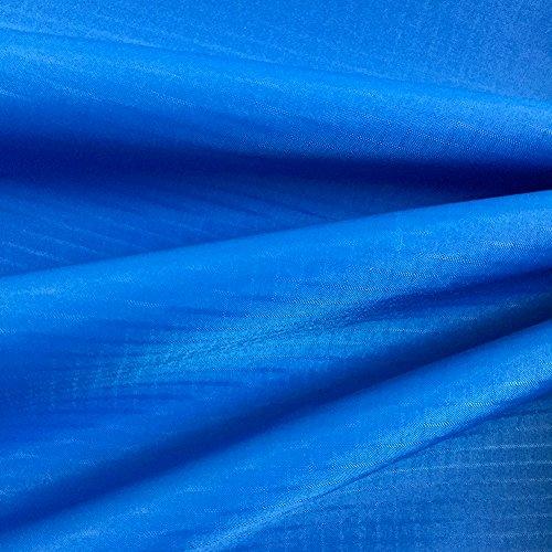 EMMAKITES Azur 1.69Oz tejido de nylon ripstop 152x91cm Resistente a los rayos UV Resistente al agua y suave a la PU Recubrimiento Excelente tela para cometas Skydancers Inflatalbes Lonas cubiertas Proyectos creativos por patio