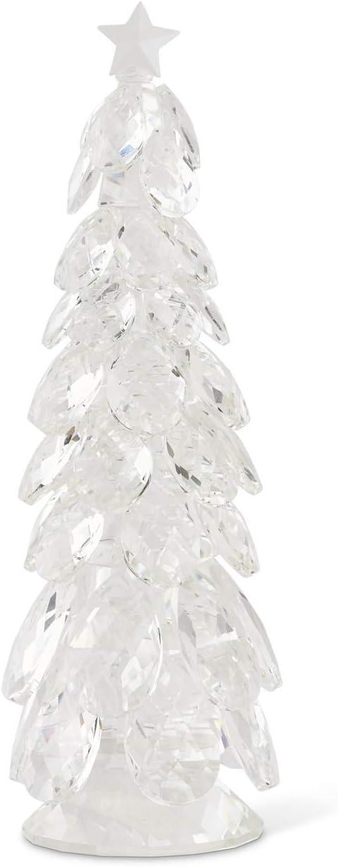 KK Regular dealer Interiors 53095A-2 Medium Genuine Free Shipping Crystal Tear Trees Christmas Drop