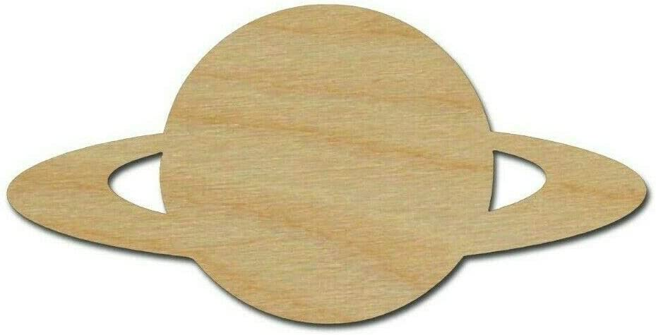 Saturn Plant Shape Max 75% OFF Unfinished Wood DIY Cutouts Variety ...