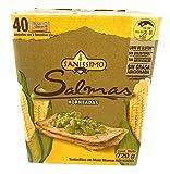 Salmas Horneadas Sanissimo Oven baked Corn Crackers 40 pack