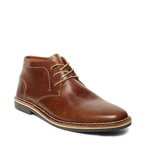 Steve Madden Men's Harken Chukka Boot, Cognac, 10.5 M US
