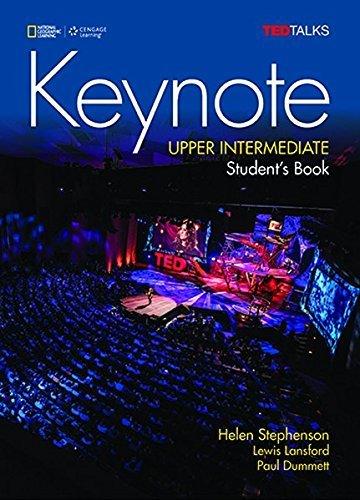 Keynote - BRE - Upper-Intermediate: Student Book + DVD-ROM + MyELT Online Workbook, Printed Access Code