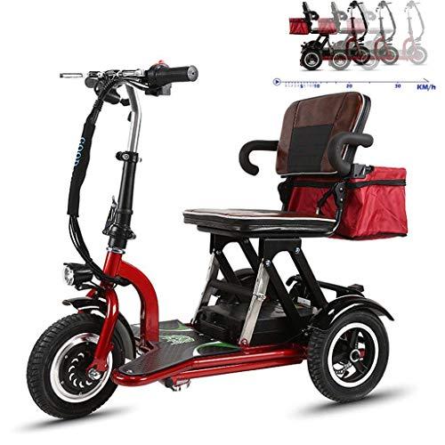 Inicio Accesorios Ancianos Discapacitados Silla de ruedas ligera Silla de ruedas eléctrica Tres ruedas para discapacitados 48V12Ah Batería de litio Cambio de 3 velocidades con bolsa de almacenamien